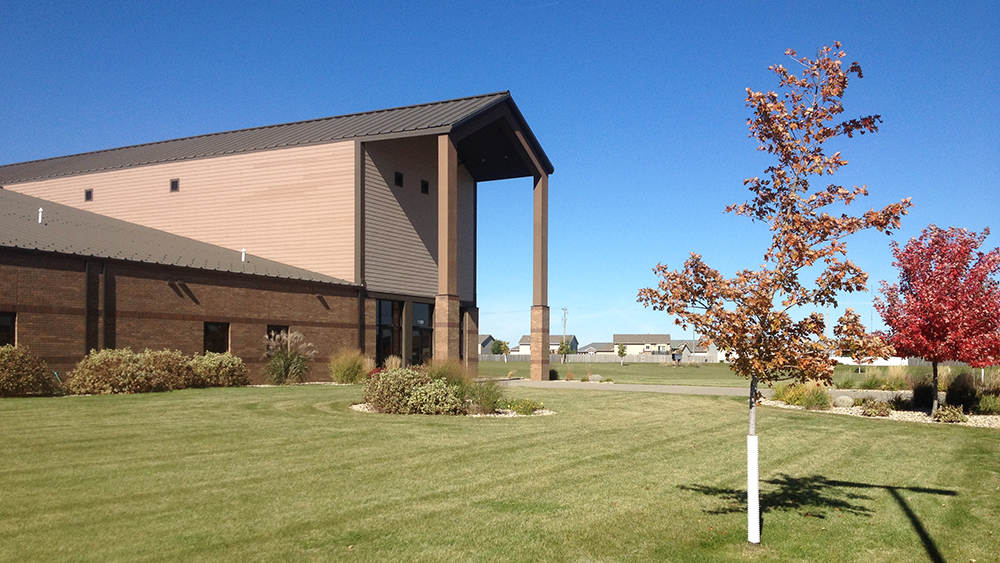 Photo of Living Word's Facility in Autumn